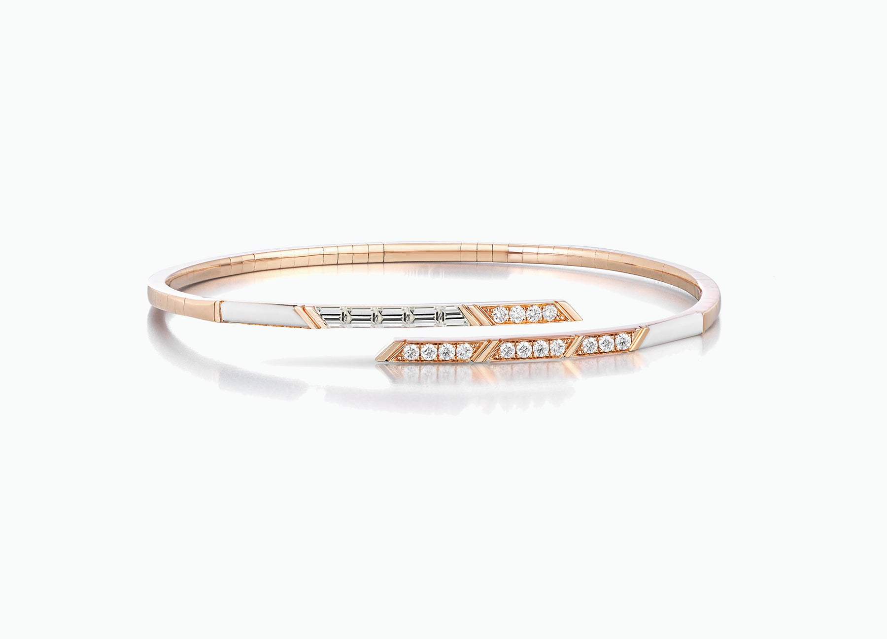 DIAMOND STELLAR FLEXIBLE BANGLE