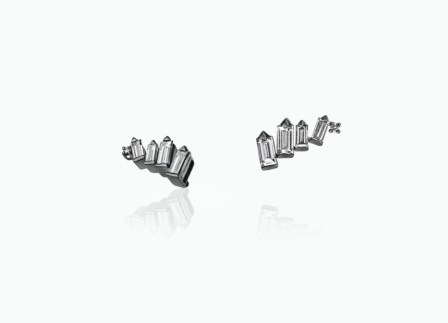 COSMIC CURVE STUD EARRINGS
