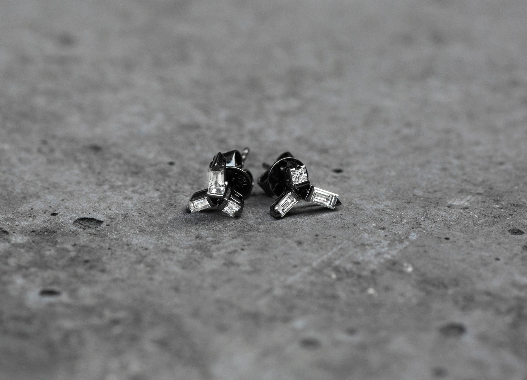 Cosmic Helix Stud Earrings