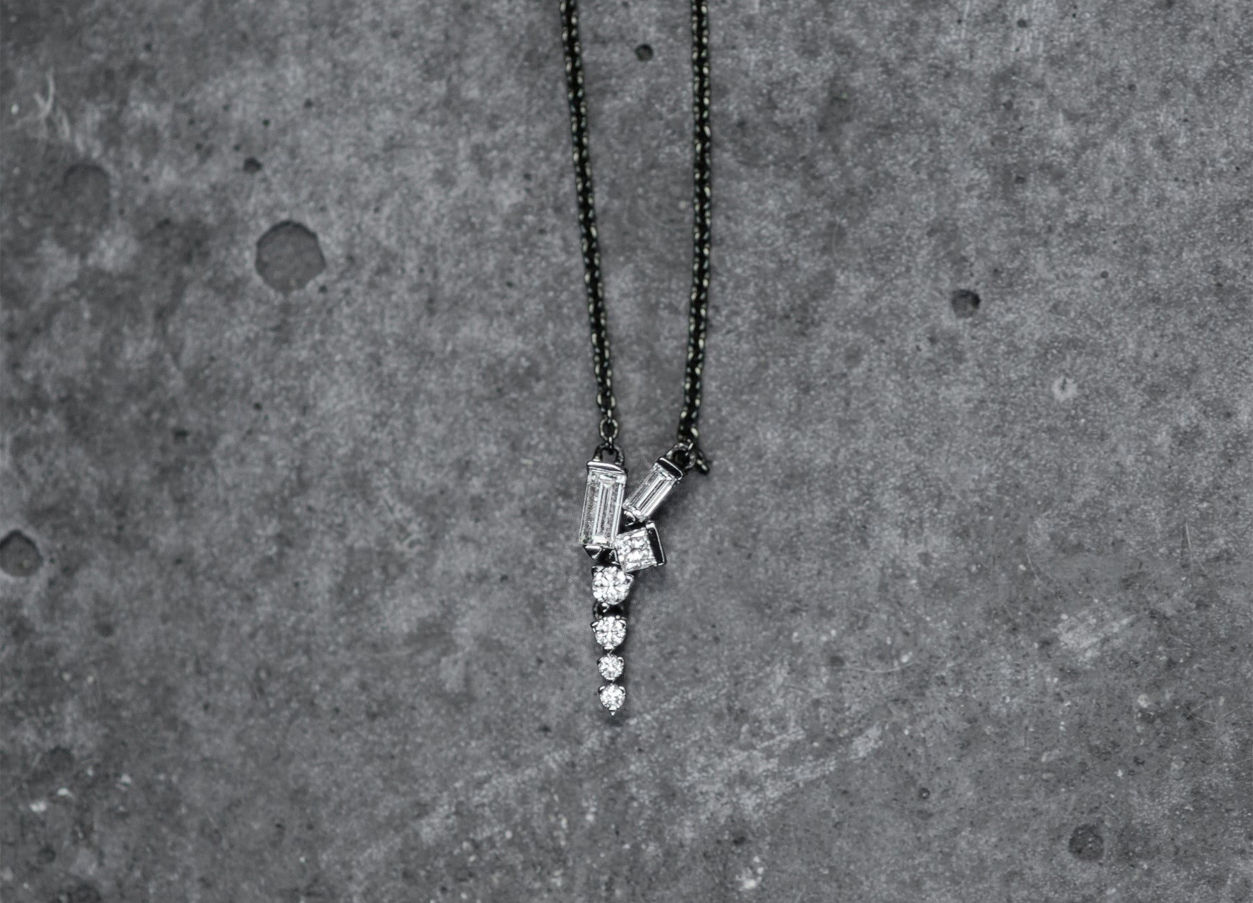 COSMIC SHORT DROP NECKLACE