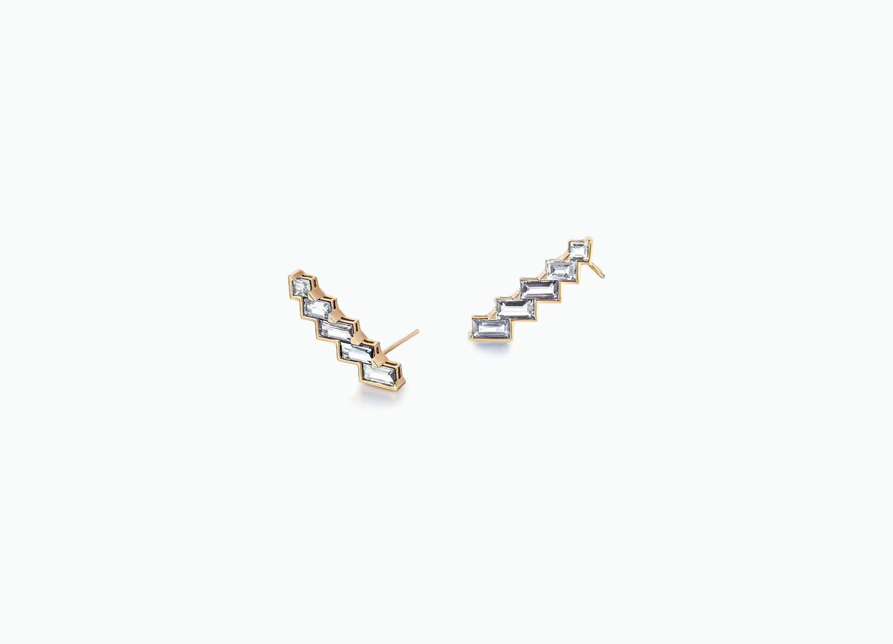 ELECTRIC NIGHT HORIZONTAL CUFF EARRINGS MINI