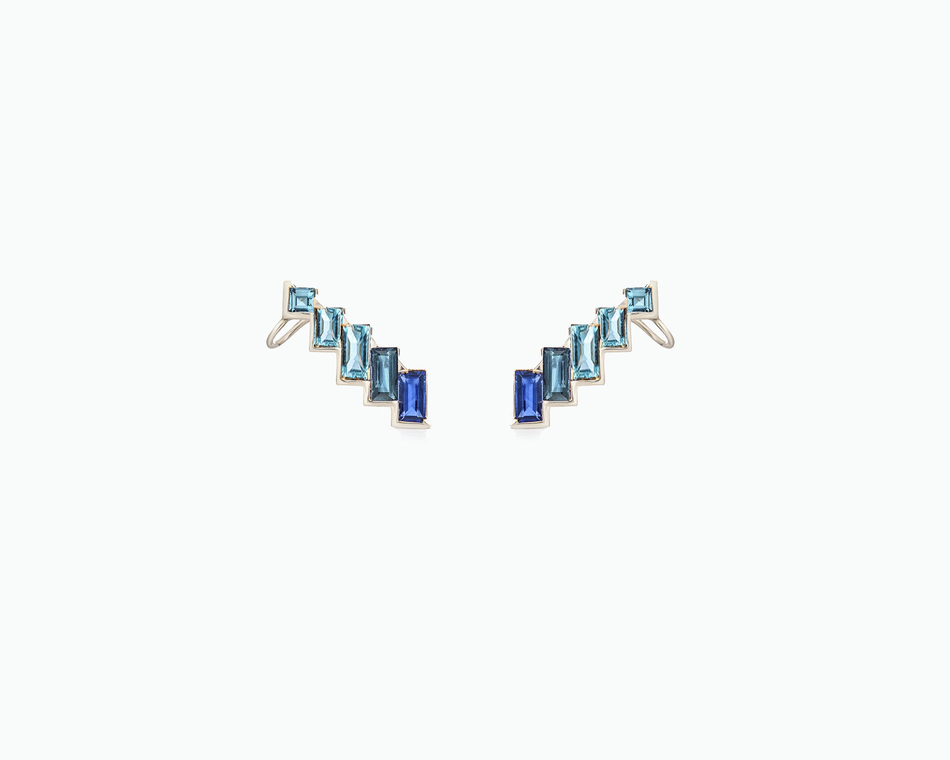 ELECTRIC NIGHT VERTICAL CUFF EARRINGS