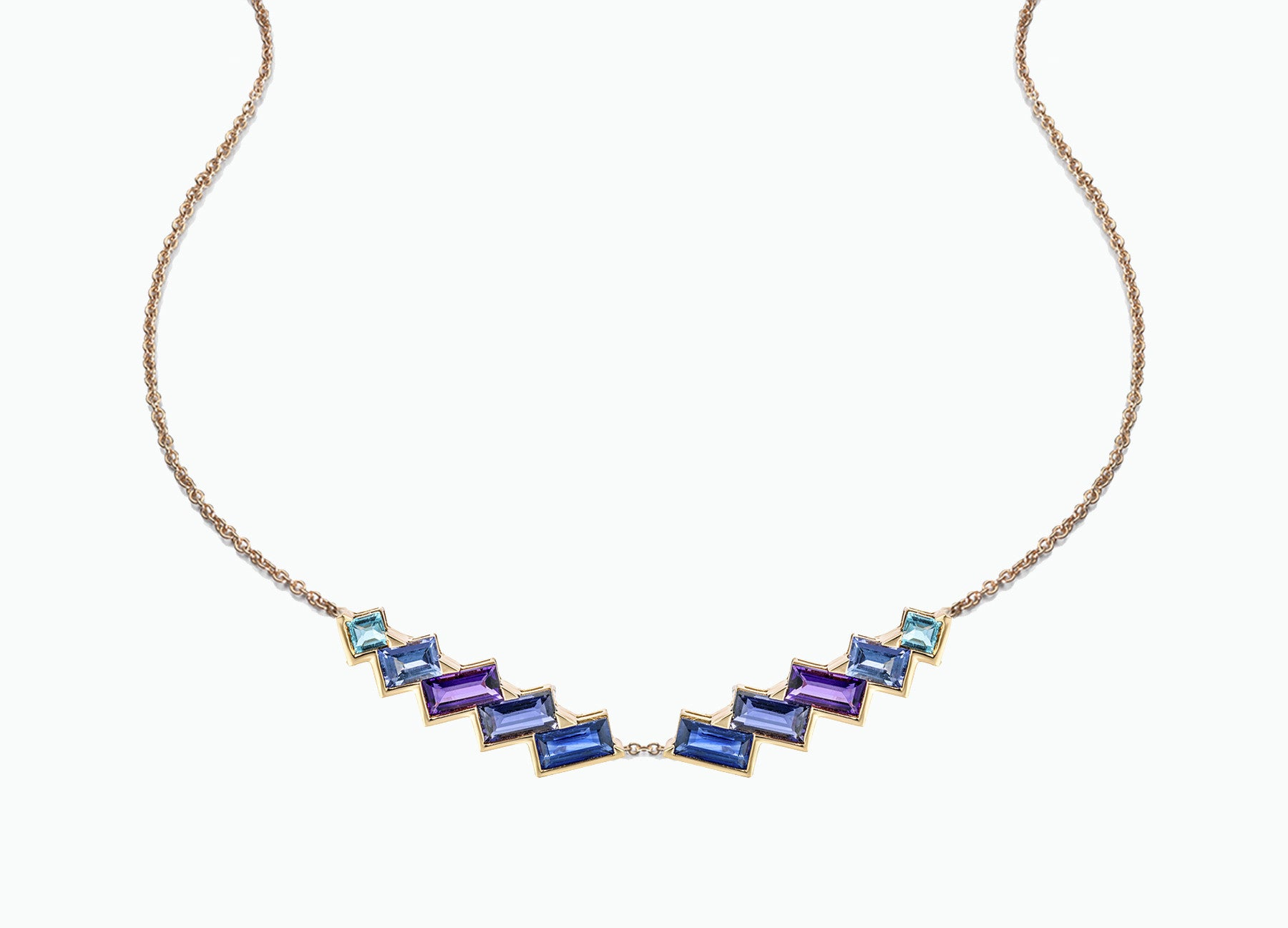 ELECTRIC NIGHT TORC NECKLACE