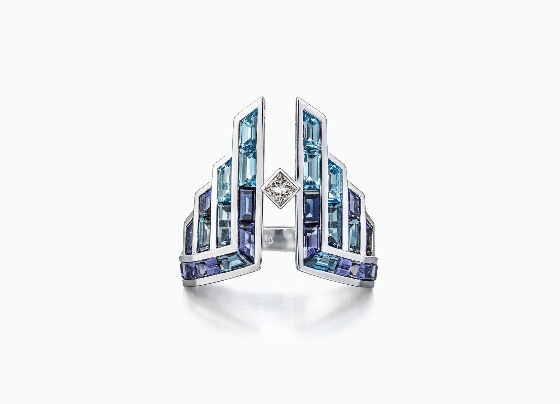ELECTRIC NIGHT DECO RING