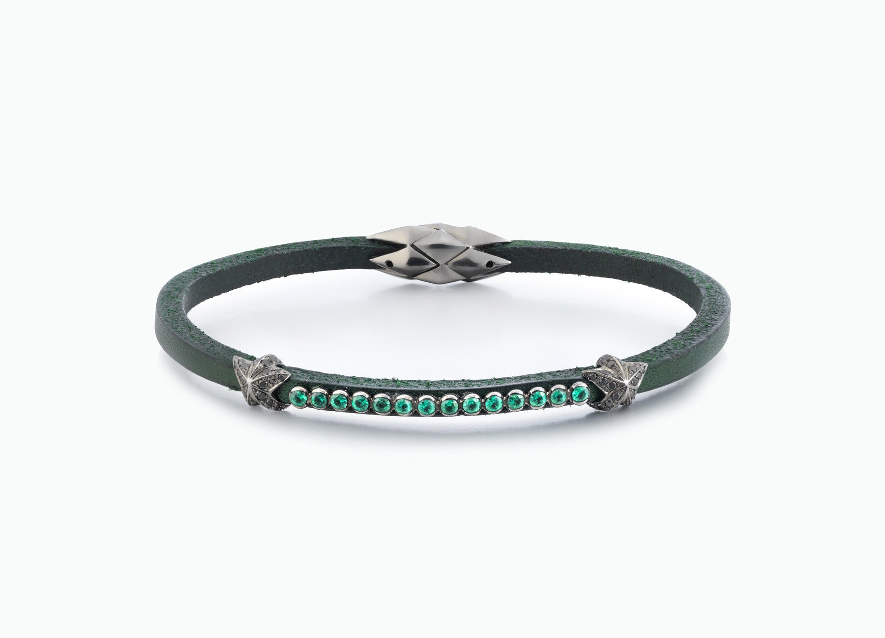 WRAP BRACELETS CITY RACING GREEN SINGLE WRAP