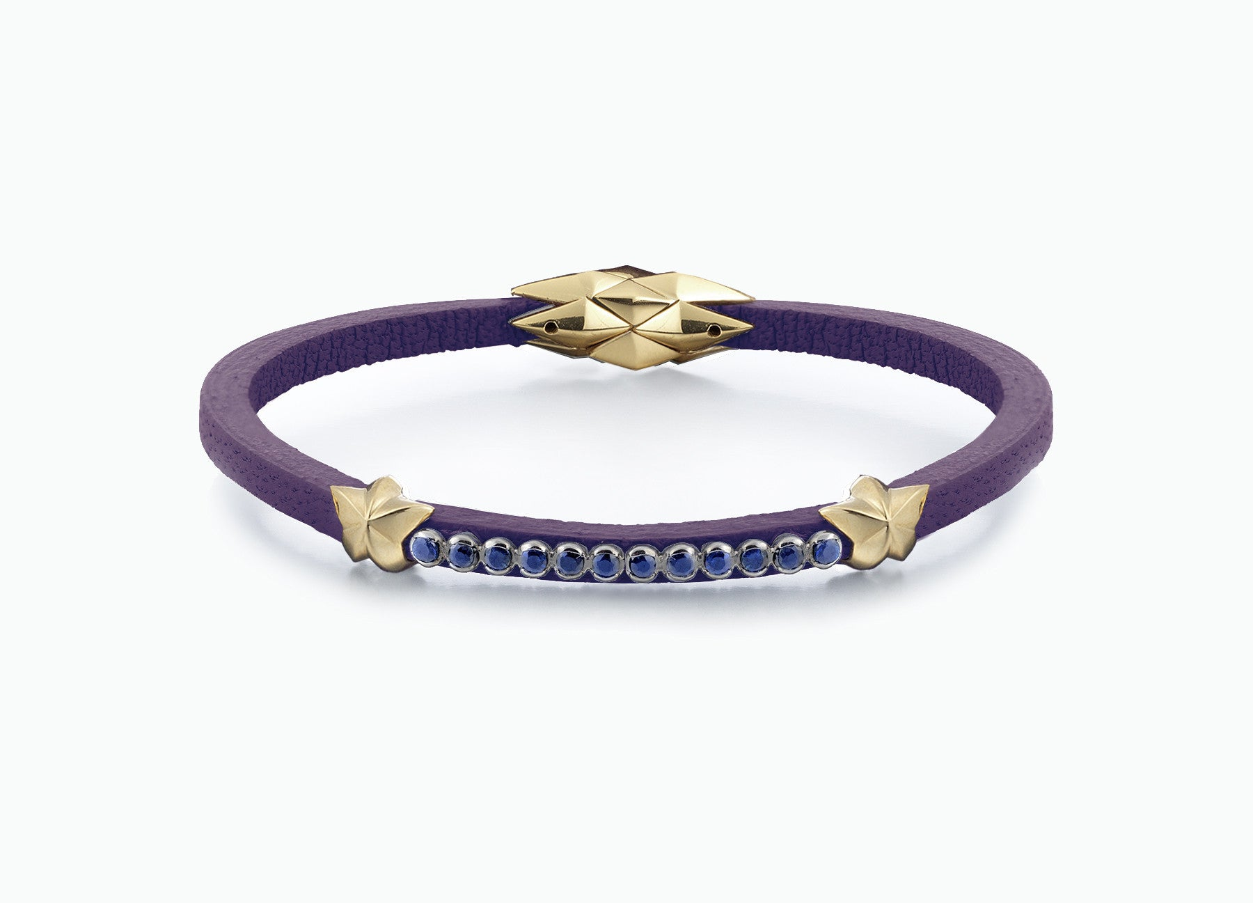 WRAP BRACELETS CITY VIOLA SINGLE WRAP