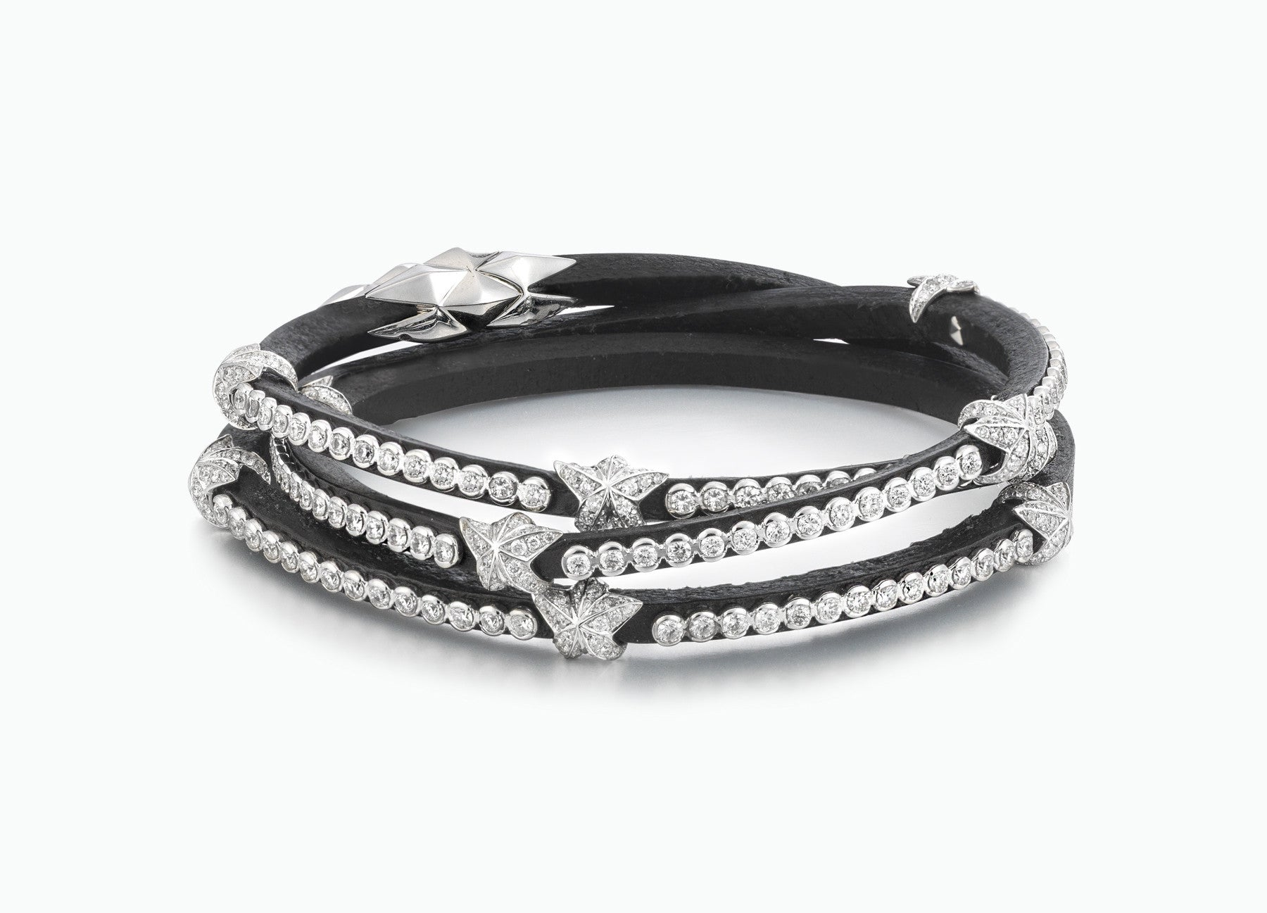 WRAP BRACELETS HERITAGE DIAMOND TRIPLE WRAP