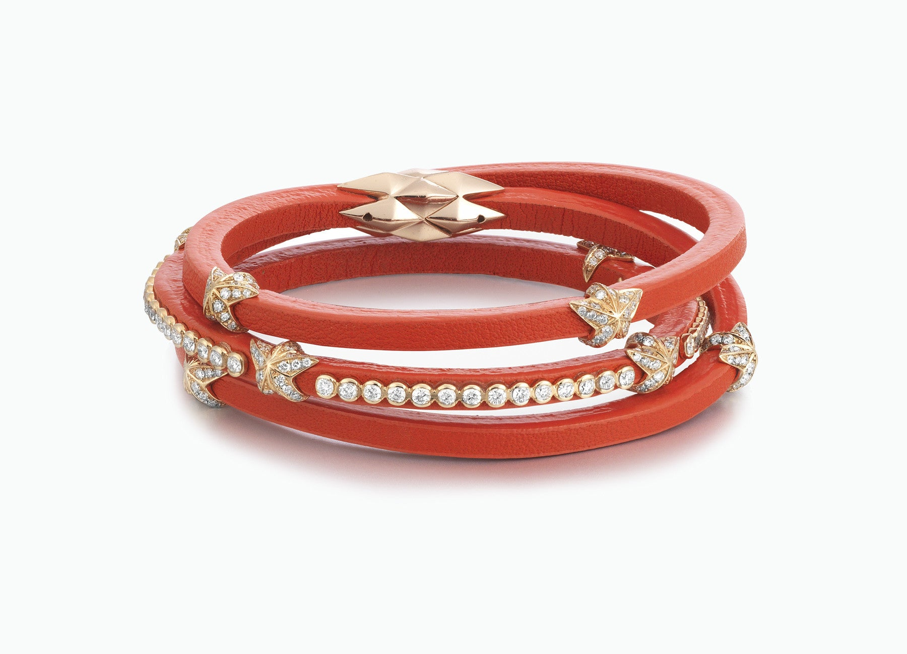 WRAP BRACELETS CITY CORAL TRIPLE WRAP
