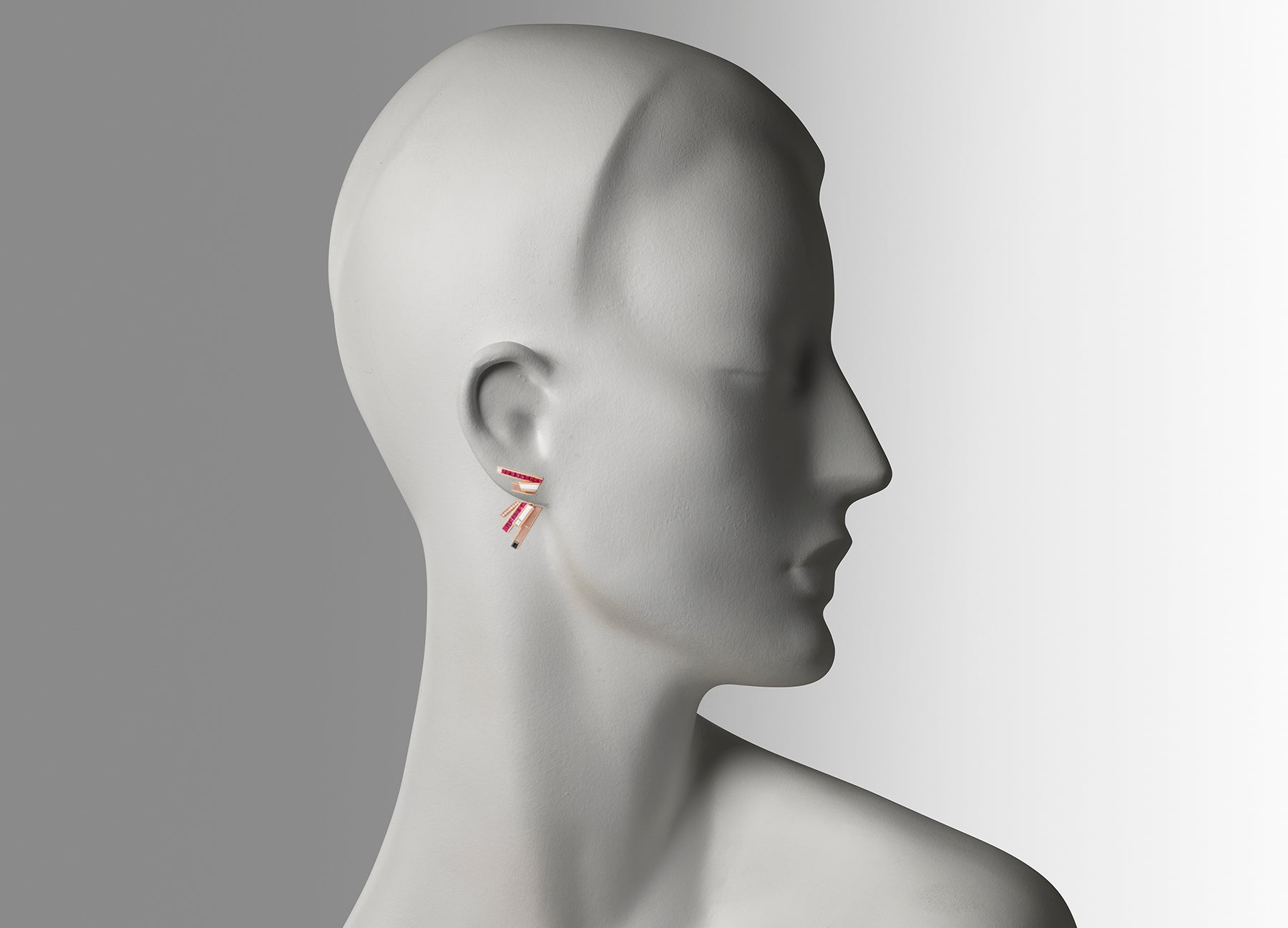 STELLAR STUD EARRINGS WITH EAR JACKETS