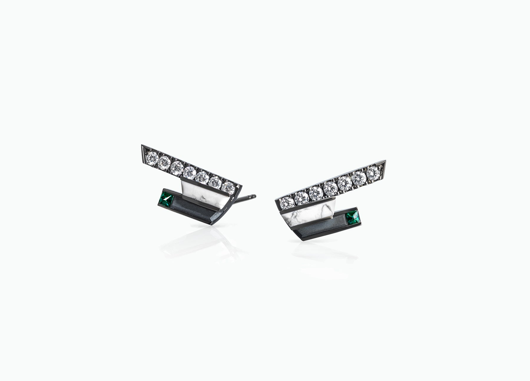 ART DECO SHORT STUDS