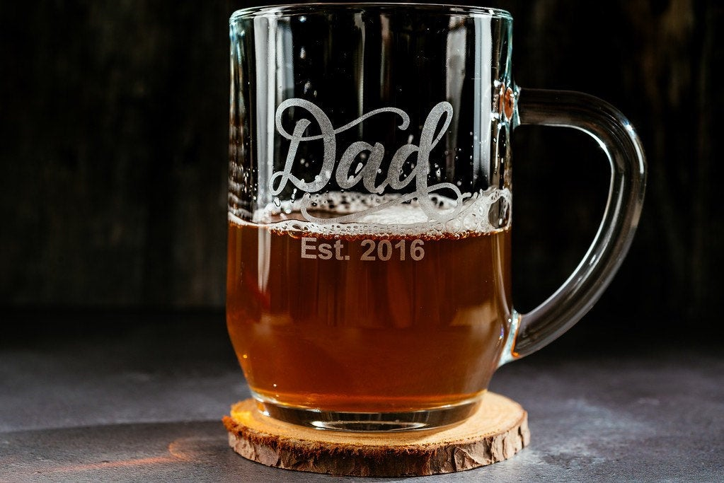 Personalised Beer/Pint/Tankard Glass