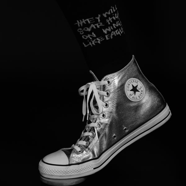 Scripture Socks - Isaiah 40:31