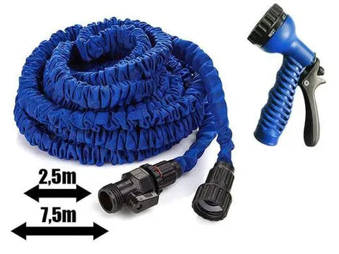 Buy XXL Hose 2,50m - 7,50m + Sproeikop 7 standen in the Custom Car Care webshop.