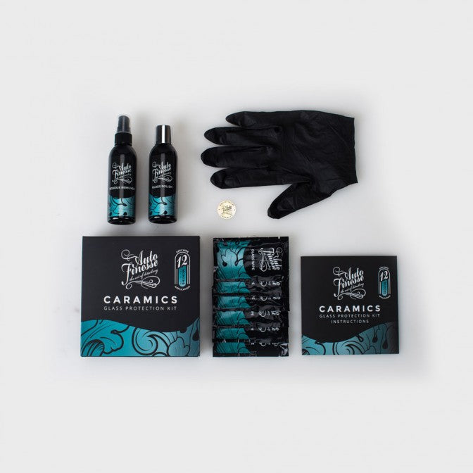 Buy Auto Finesse Caramics Glass Protection Kit in the Custom Car Care webshop.