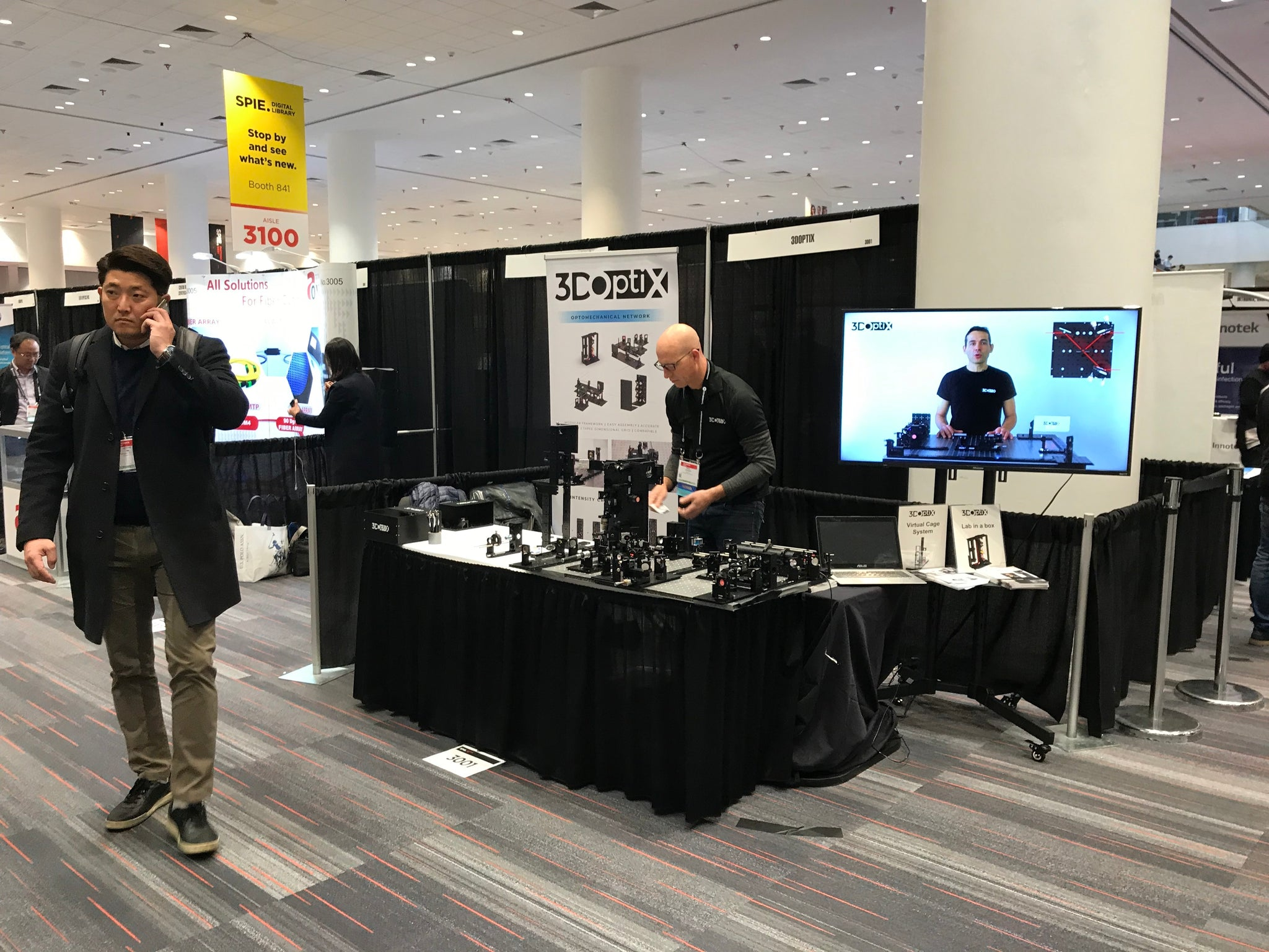3DOptix @ Photonics West 2019