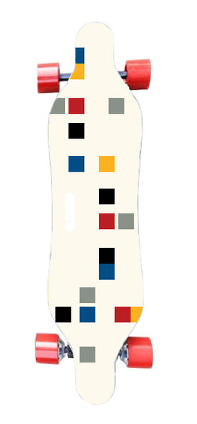 COLOUR BLOCK Board - Liberté Boards Dual-Motor Electronic Skateboard