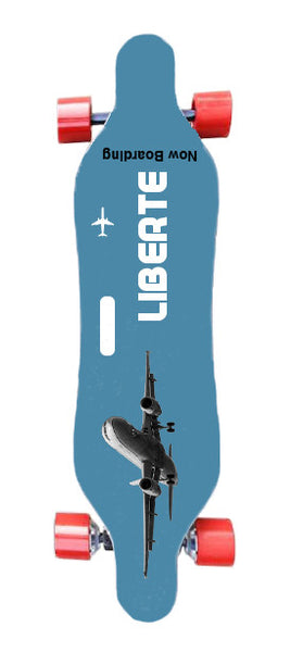 Now Boarding Board - Liberté Boards Dual-Motor Electronic Skateboard
