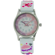 Reflex Time Teacher Kids Girls White 3D Silicone Princess Strap Watch REFK0010