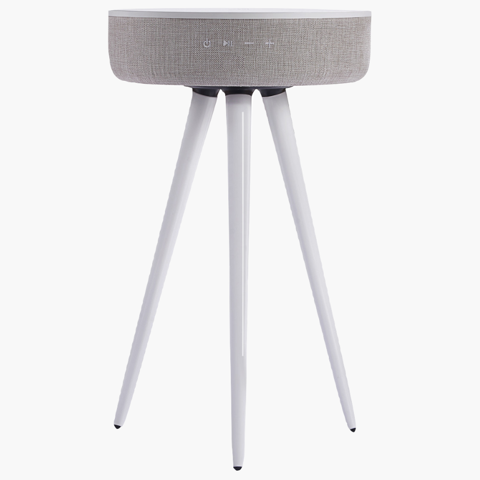 TouchDown Audio - Designer Table (White)-Home-TouchDown Charging-TouchDown Charging