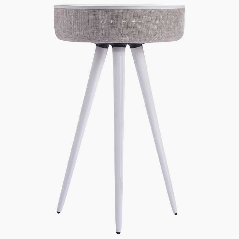 TouchDown Audio - Designer Table (White) - TouchDown Charging