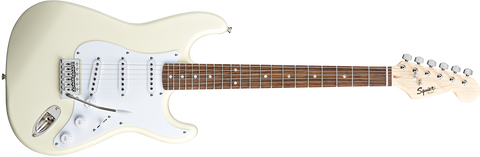 Squier Bullet Strat with Tremolo, Laurel Fingerboard, Arctic White