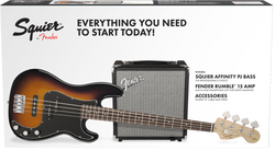 Squier P Bass Starter Pack