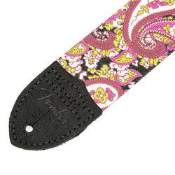 Fender Paisley Guitar Strap Pink