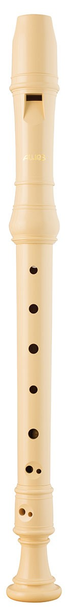 Aulos 903 Descant Recorder Ivory