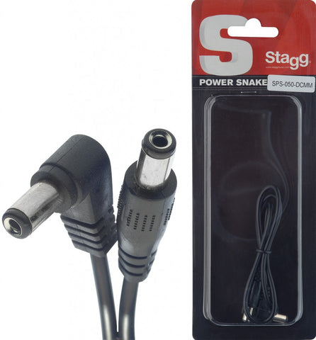 Stagg Sps-050-Dcmm Power Cable 50cm Single