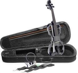 Stagg Evn X  4/4 Electric Violin black