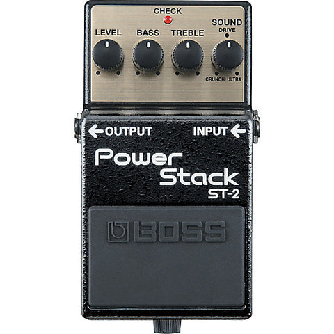 Boss ST-2 Distortion Power Stack Pedal