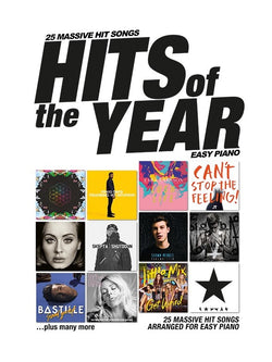 Hits Of The Year 2016 (Easy Piano)