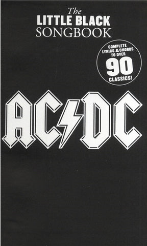The Little Black Songbook: AC/DC