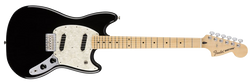 Fender Mustang Black Maple Fingerboard