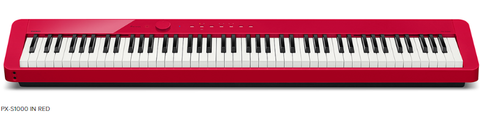 Casio PX-S1000 Stage Piano Red