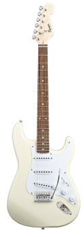 Squier Stratocaster Bullet Arctic White