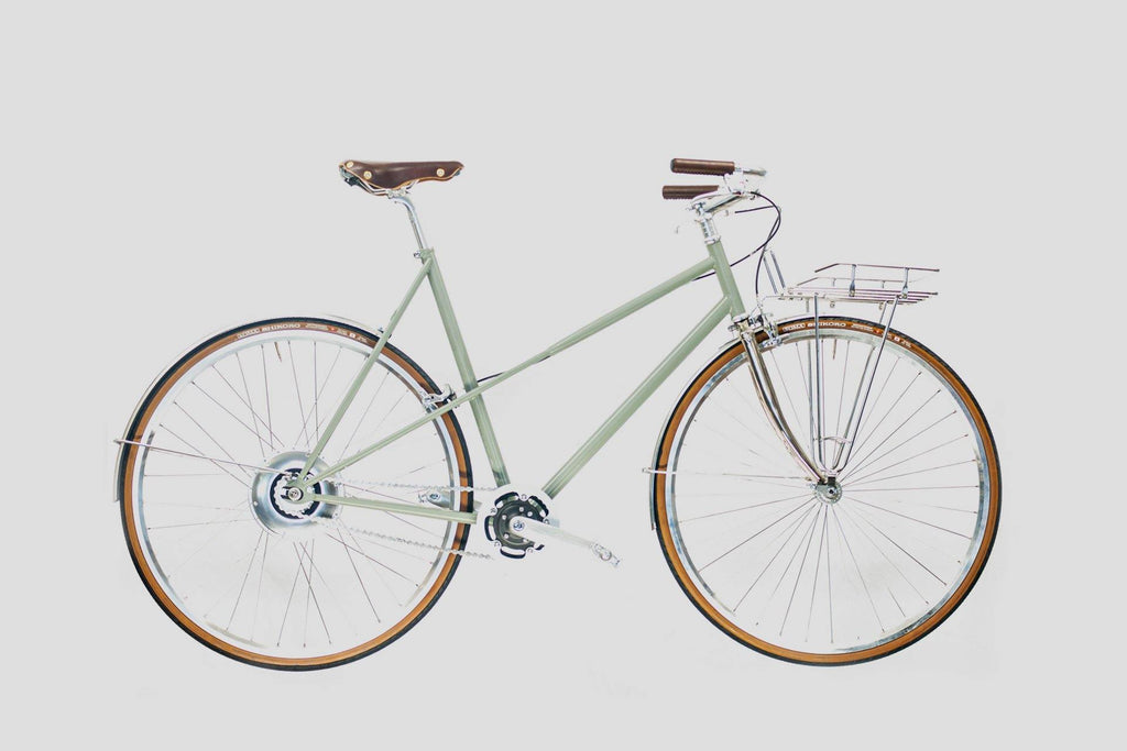 BÉCANE  - Nickel - Pepple Grey - GOrilla . urban cycling