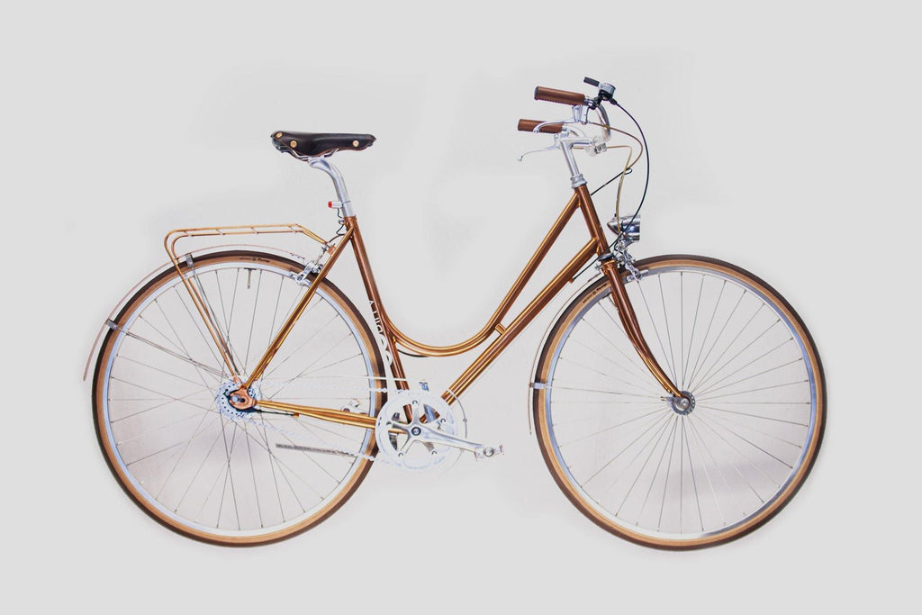 LADY - Copper - Hub Dynamo - GOrilla . urban cycling