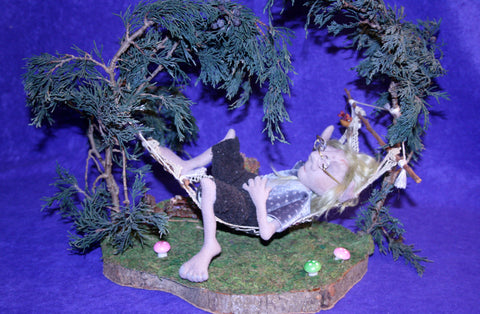 Asleep in the Fairy Garden