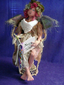 Fairy Queen with Book
