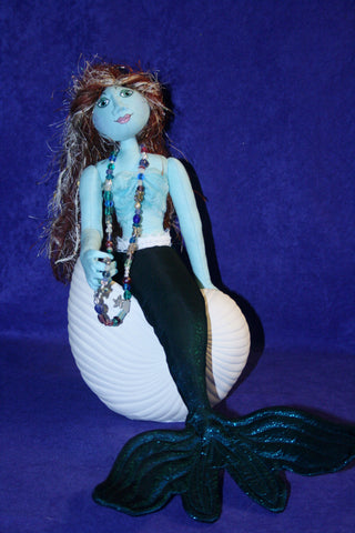 Pensive Mermaid