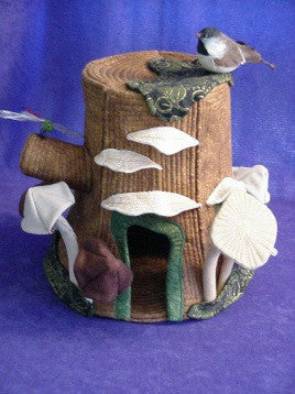 Tree Stump Fairy House Pattern
