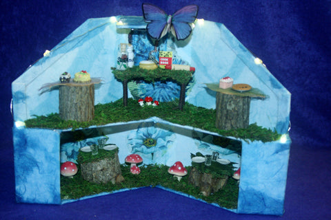 Fairy House - Blue Poppies Bakery and Cafe