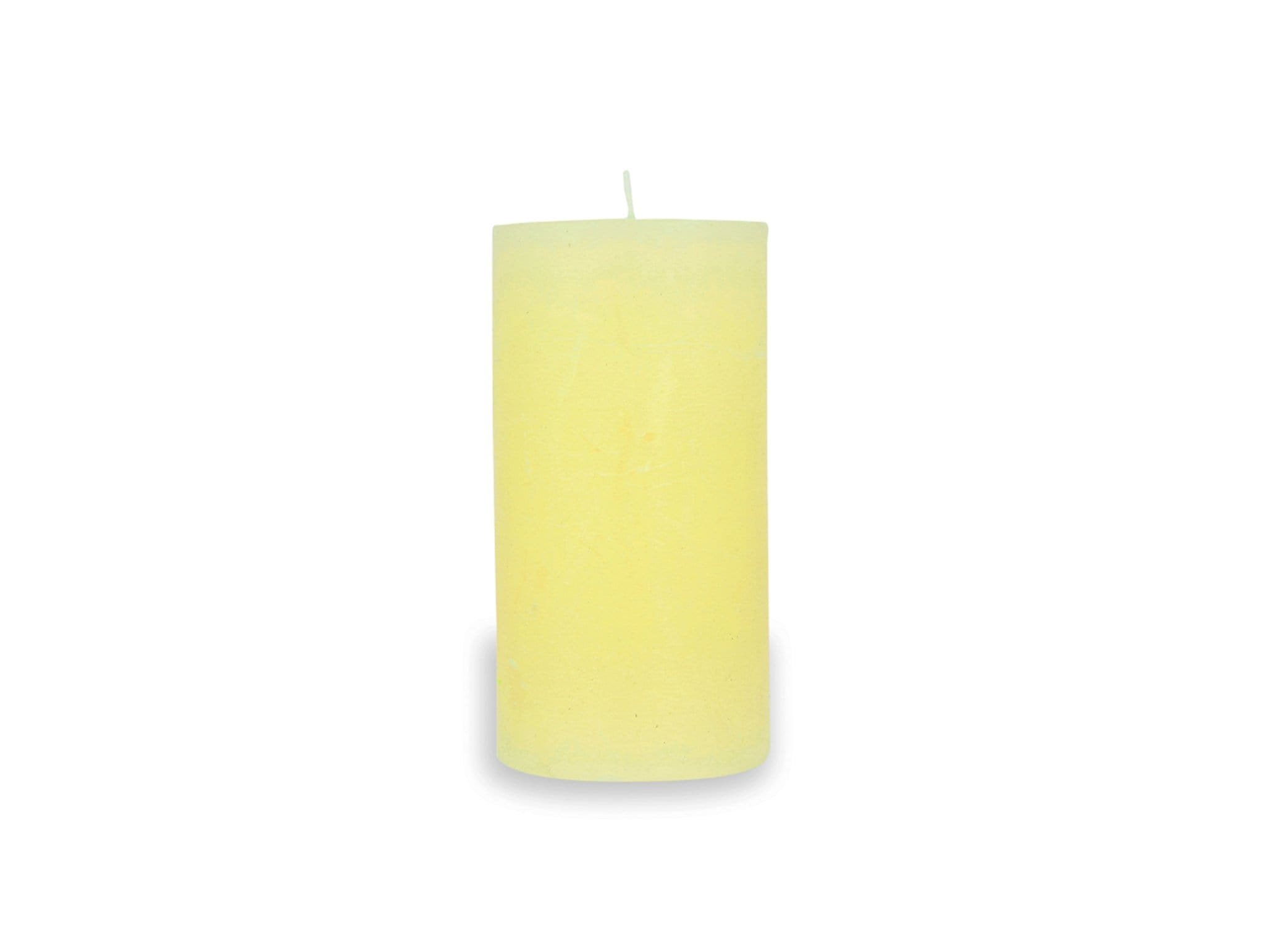 Κερί Pillar Yellow
