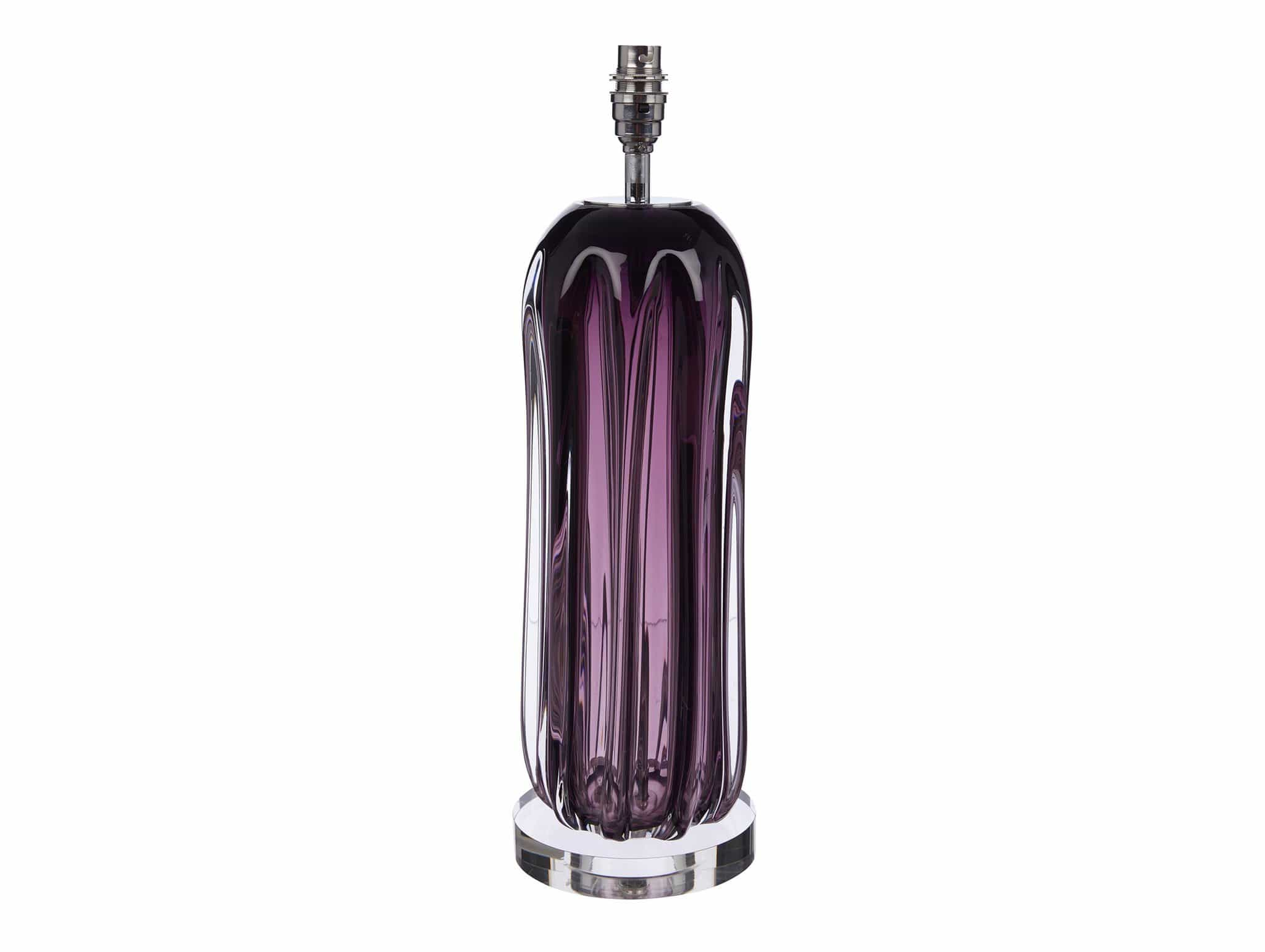 Βάση Large Purple Glass