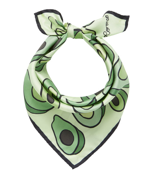 Avocados Scarf - Green