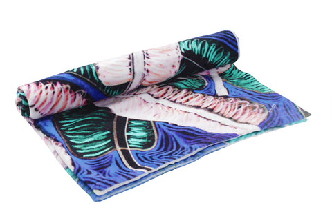 Banana Leaves Beach Towel