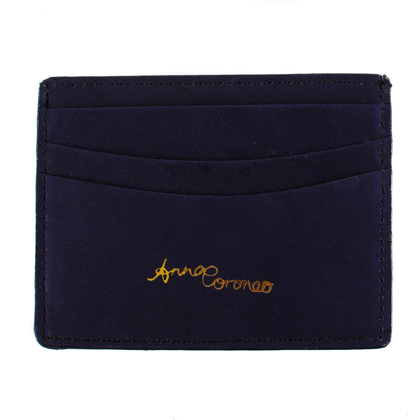 Diamonds Leather Cardholder