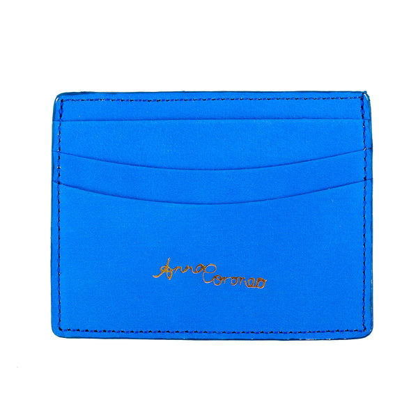 Eyes Leather Cardholder