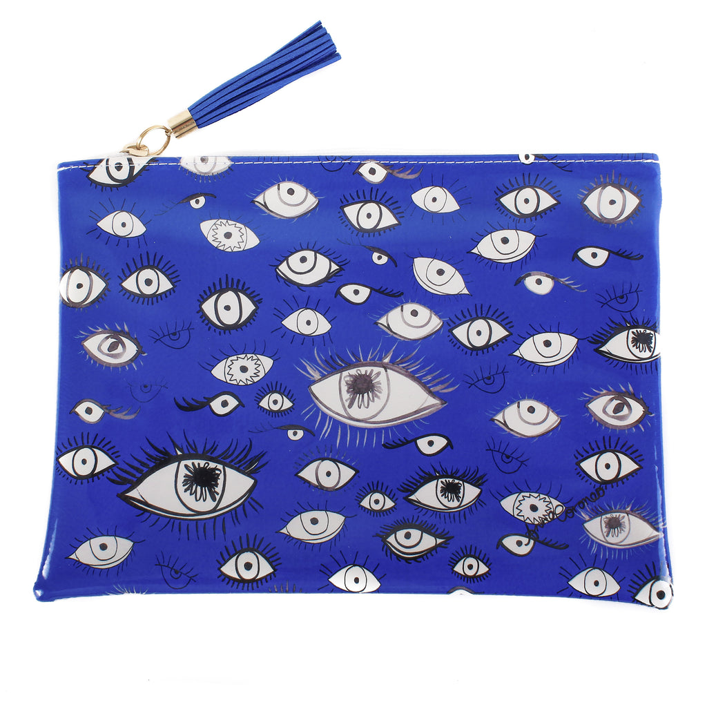 Eyes Travel Clutch
